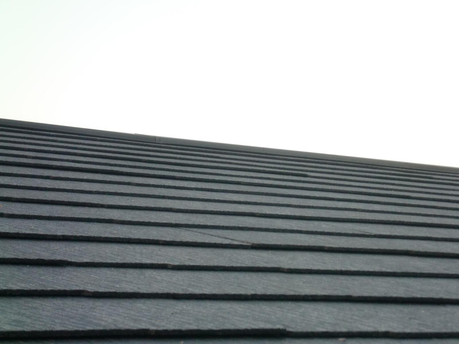 コロニアル新築屋根工事