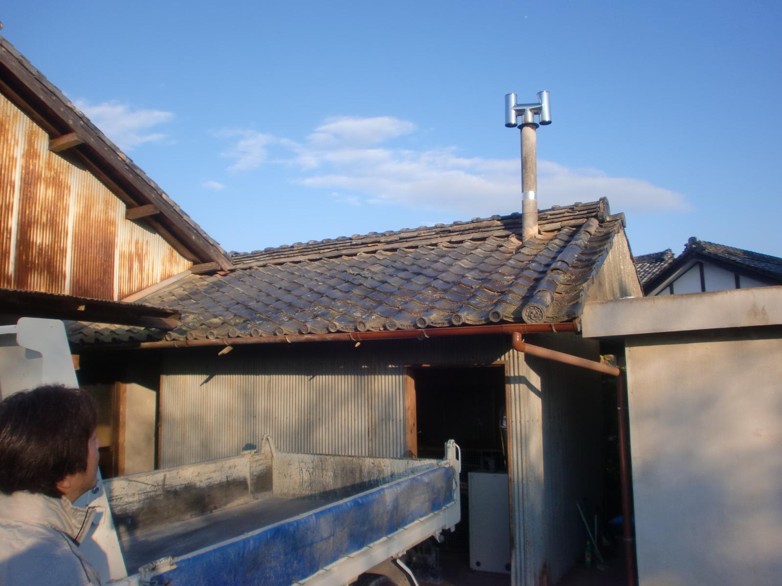 津市K邸 雨漏り屋根葺き替え工事