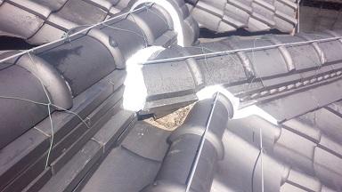 雨漏り 屋根掃除