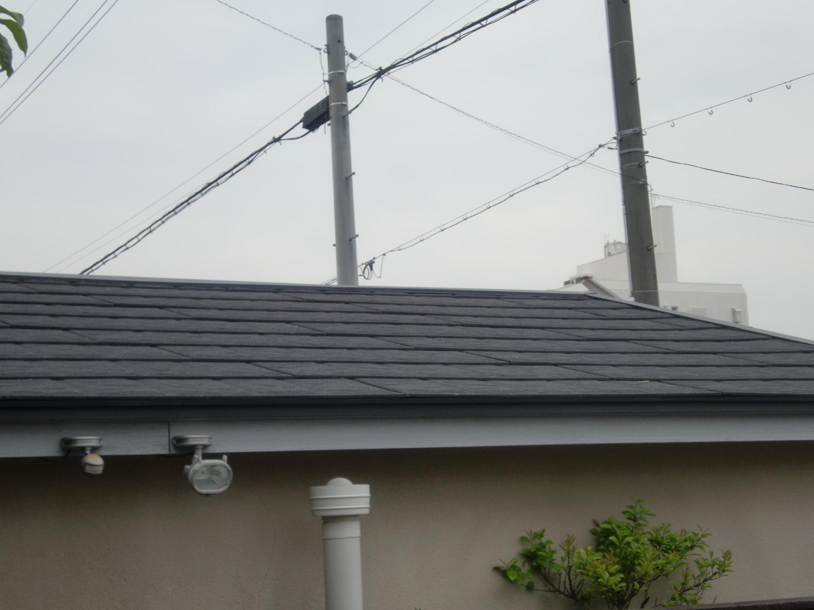 津市雨漏り 屋根カバー工法