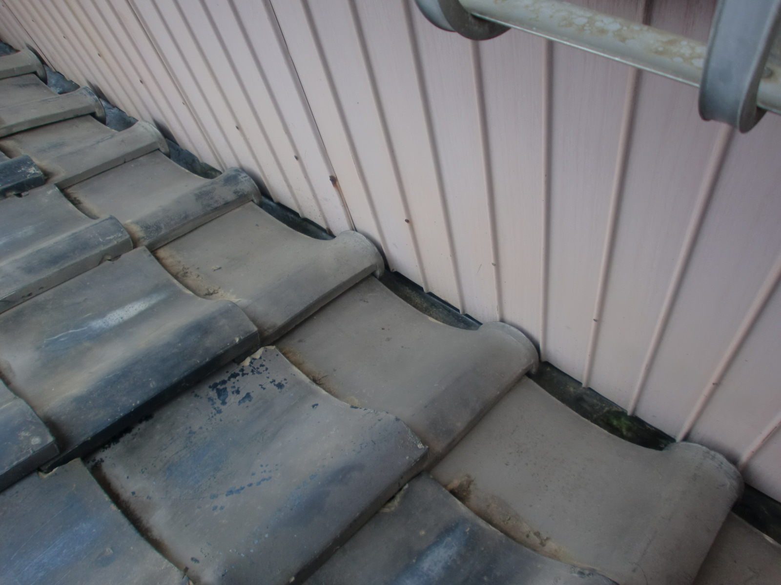 津市 銅板樋 雨漏り修理