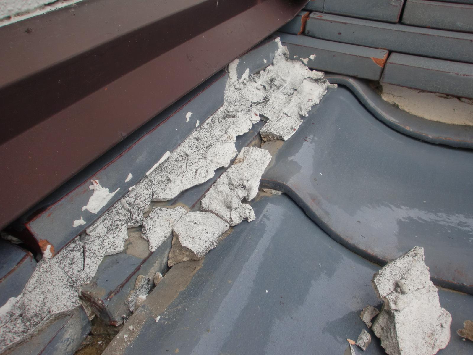松阪市嬉野町で屋根修理