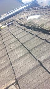 セメント瓦雨漏り修理