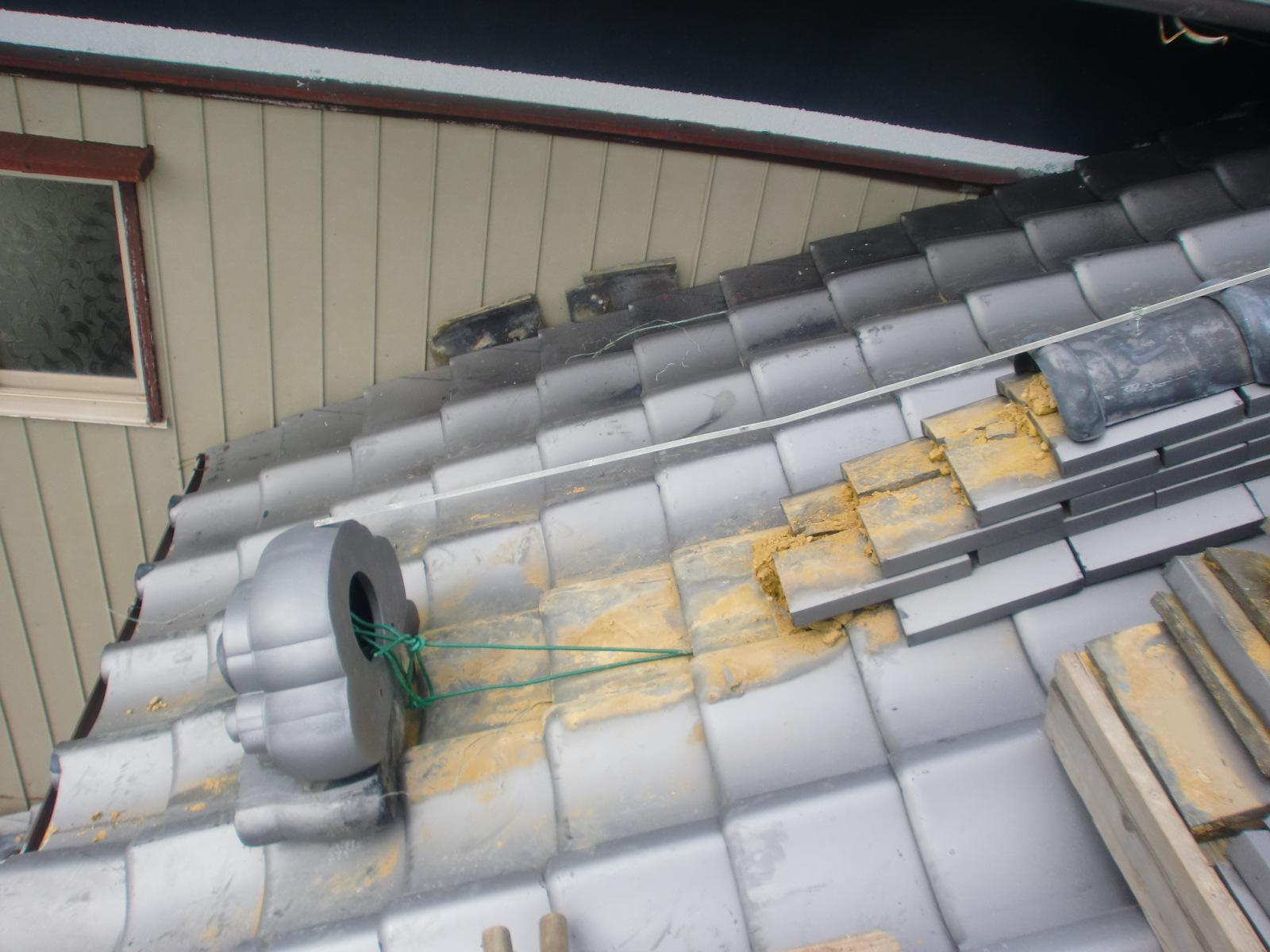 鬼瓦・棟瓦の屋根修理
