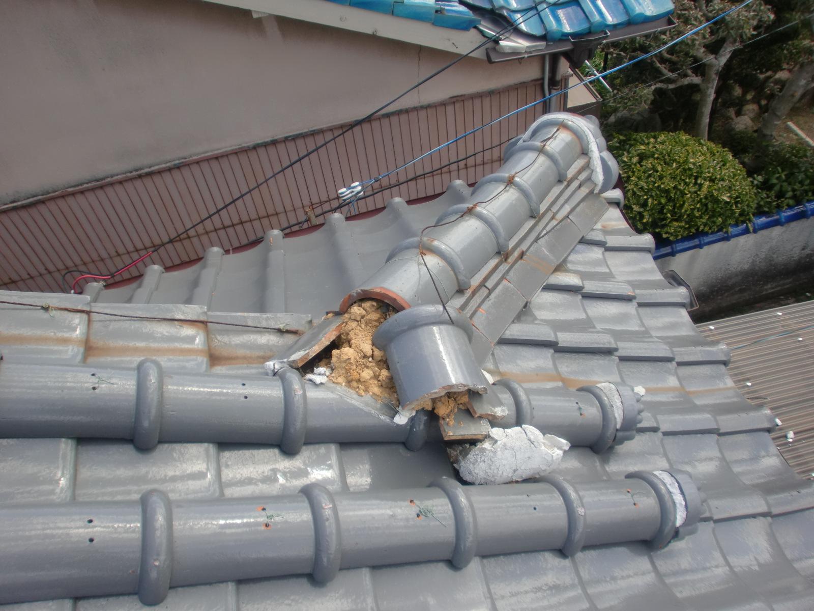 鈴鹿市で屋根修理