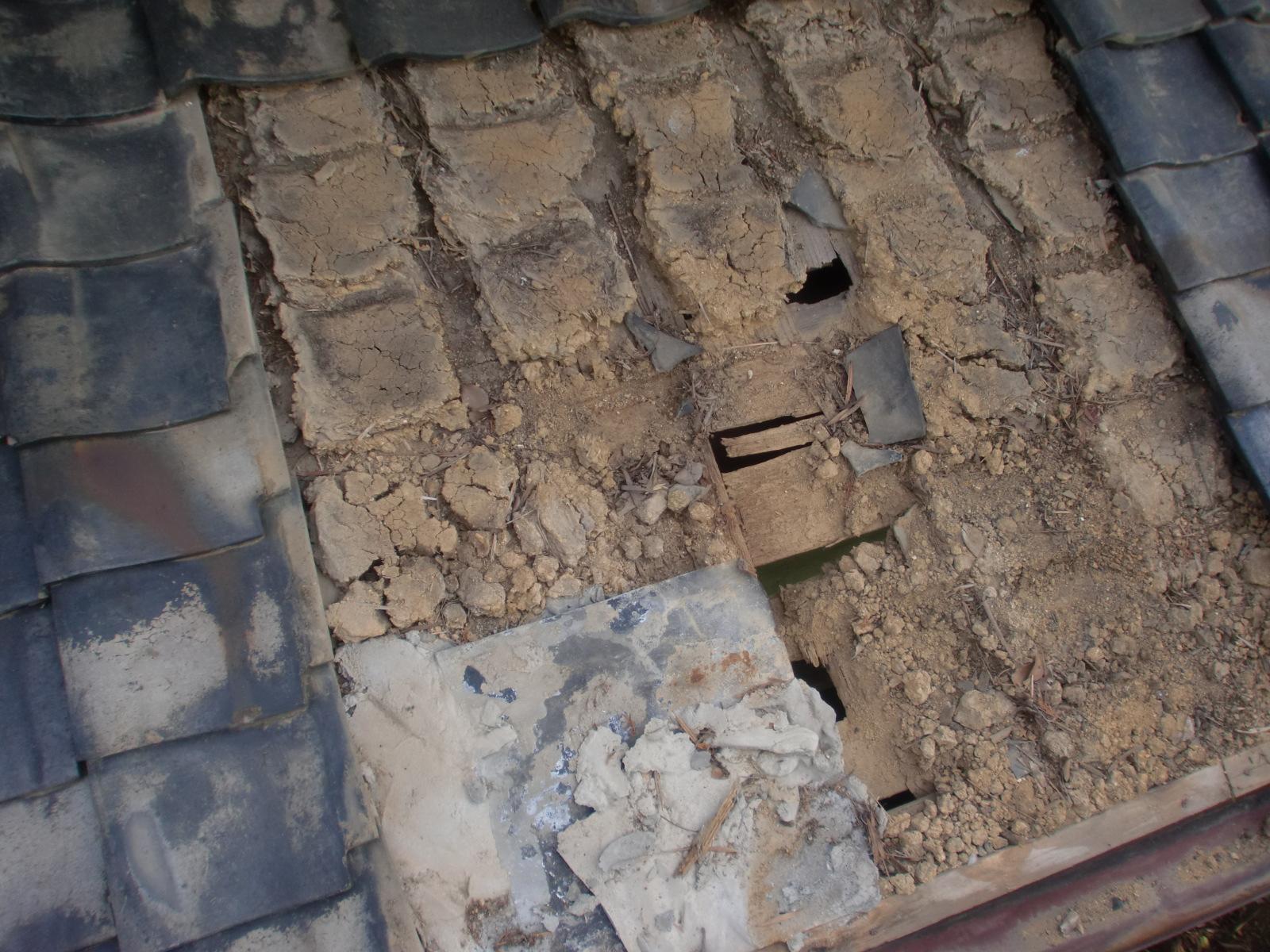 松阪市で雨漏り修理