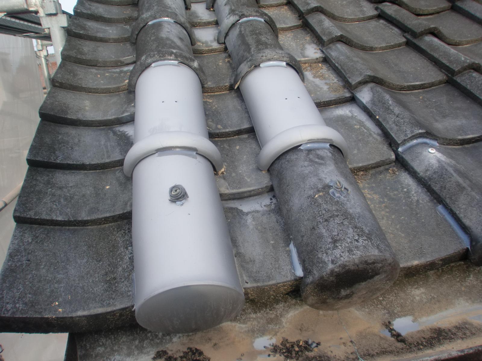 津市で屋根の修理