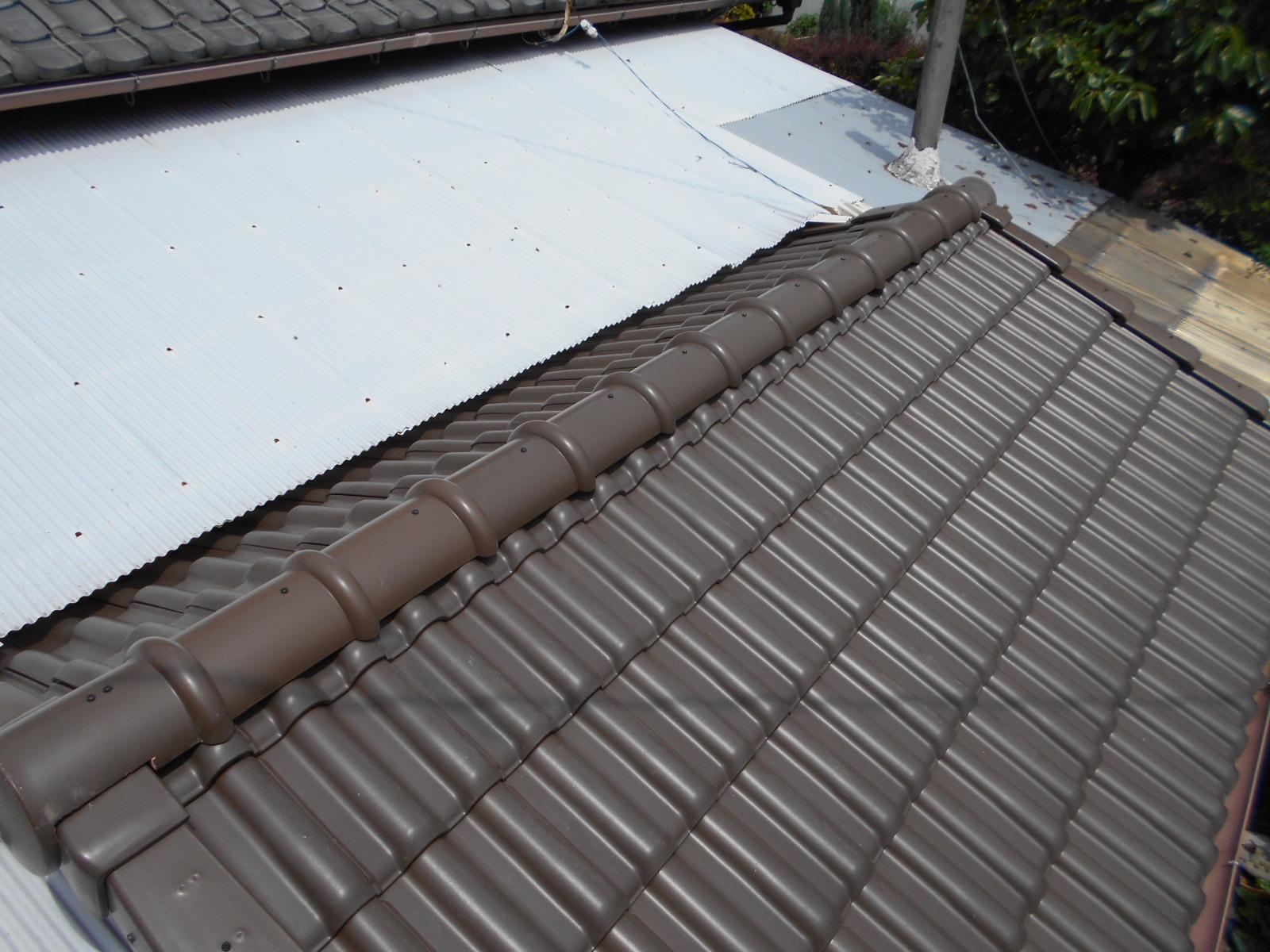 三重県鈴鹿市 N様邸 雨漏り屋根葺き替え工事
