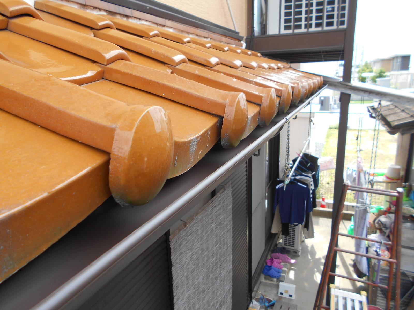 三重県 津市で 樋の取替修理