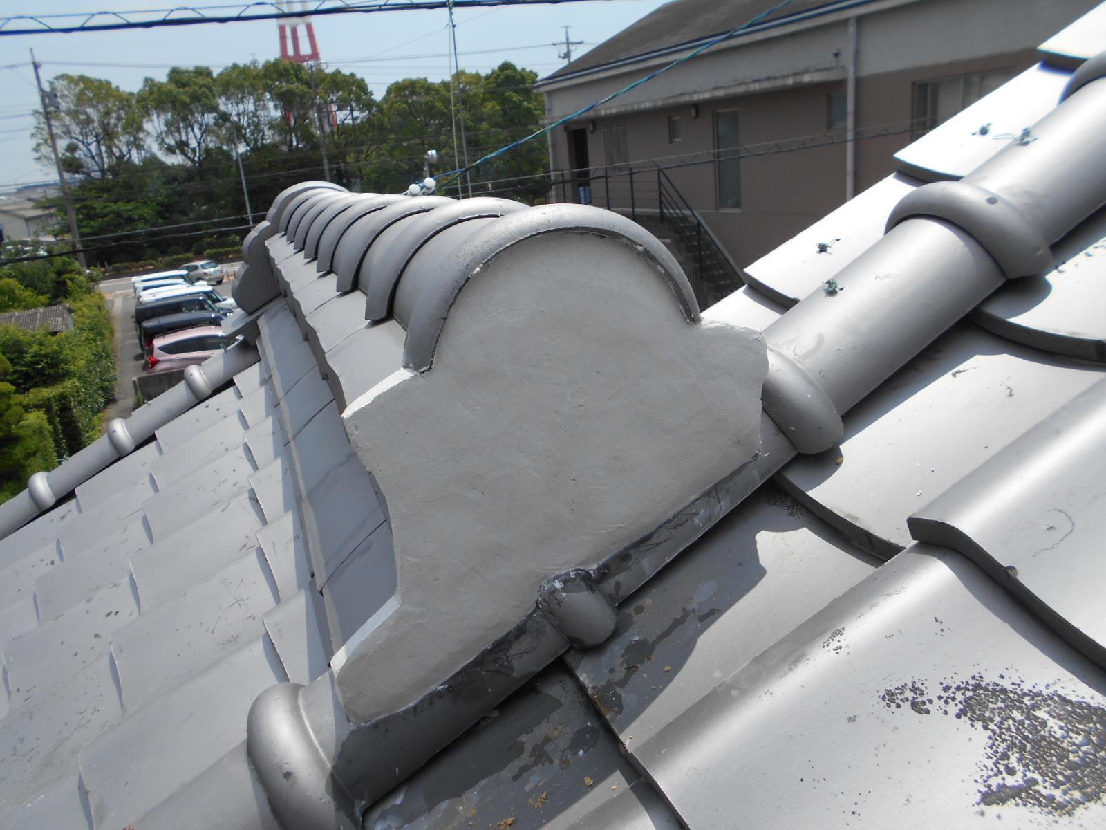 四日市市で雪害屋根修理