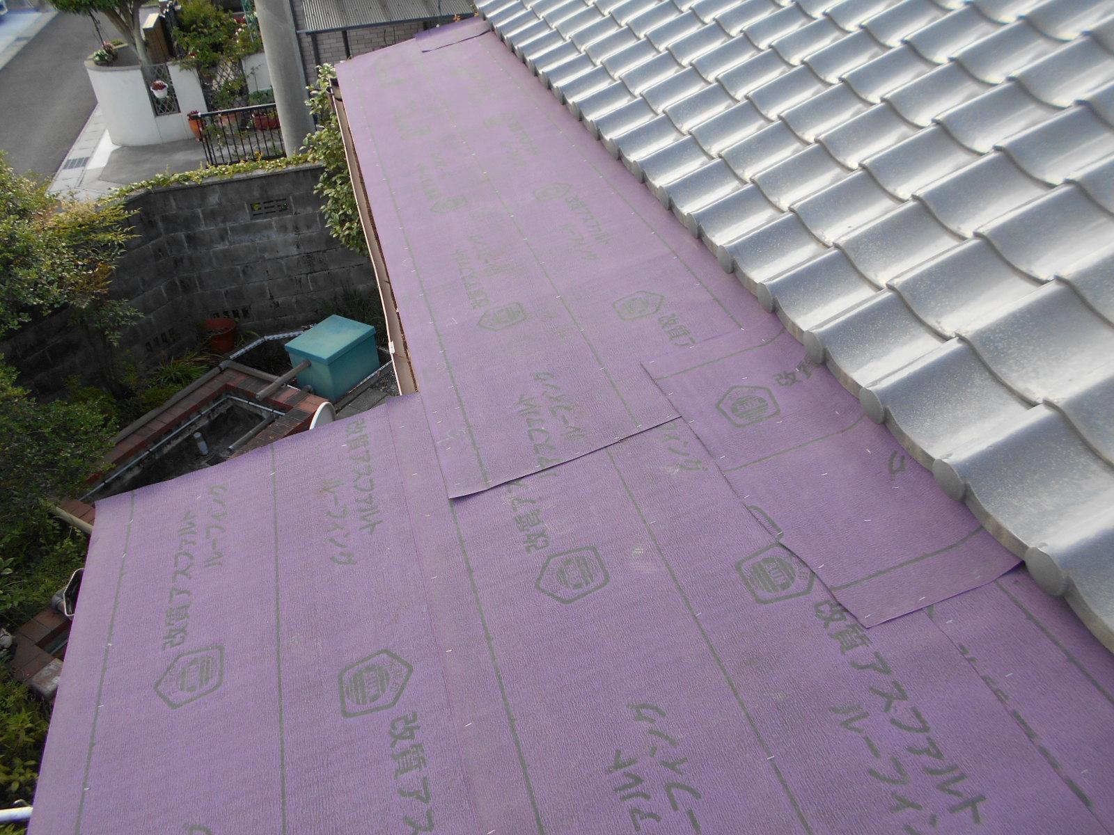 津市で金属屋根の修理