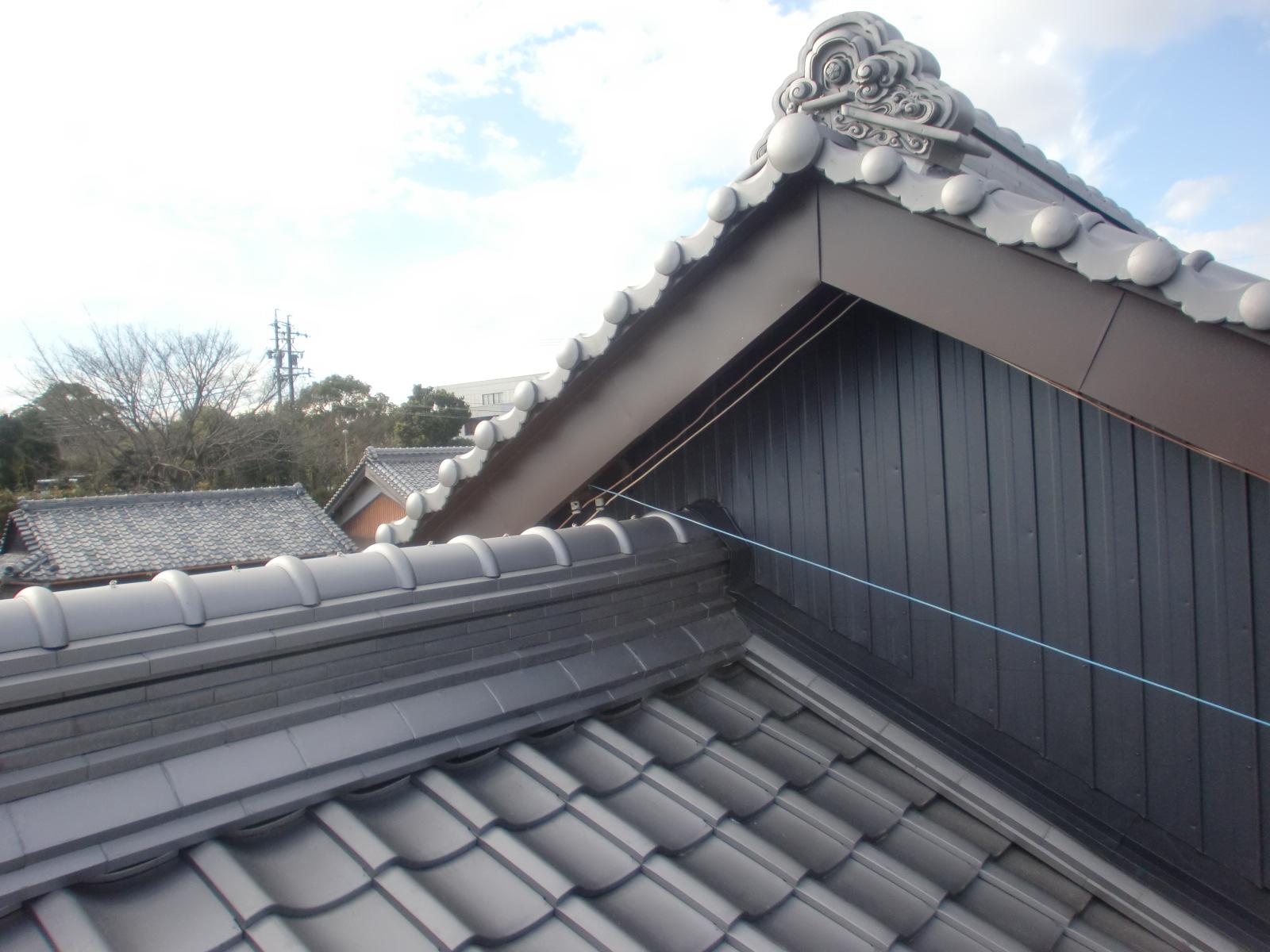 耐震耐風 屋根施工で屋根リフォーム