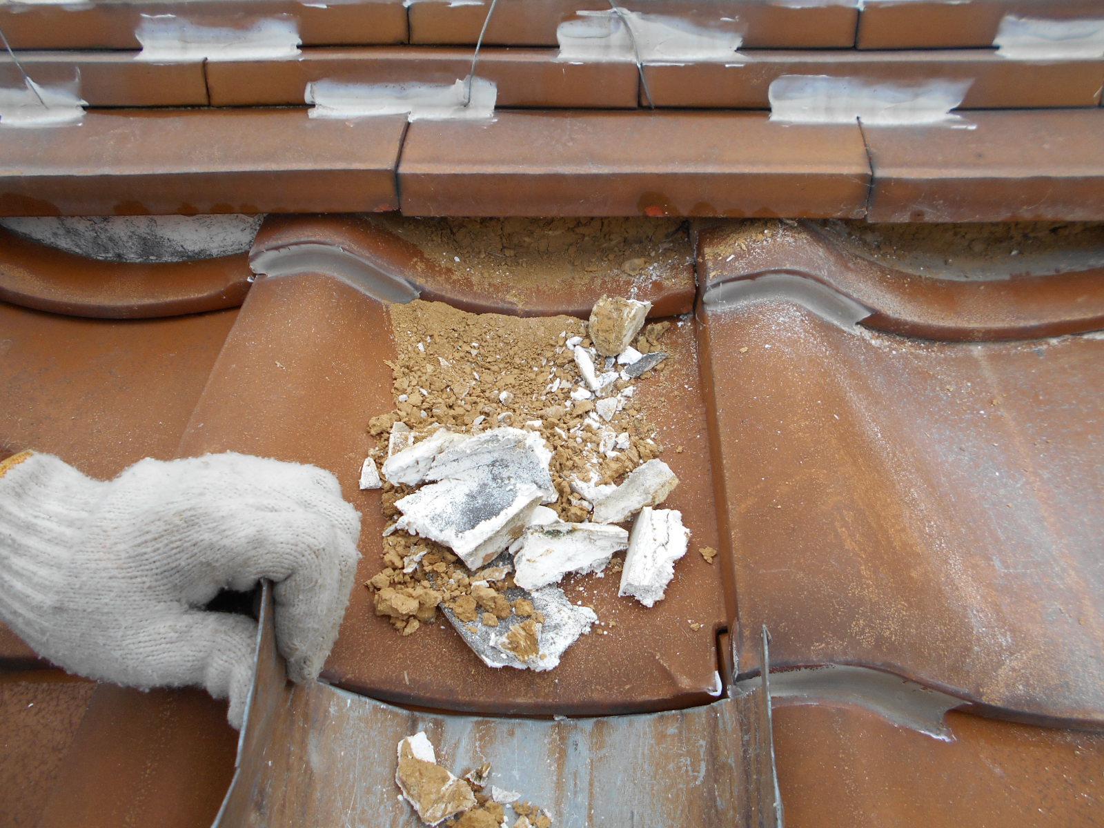 津市で漆喰修理