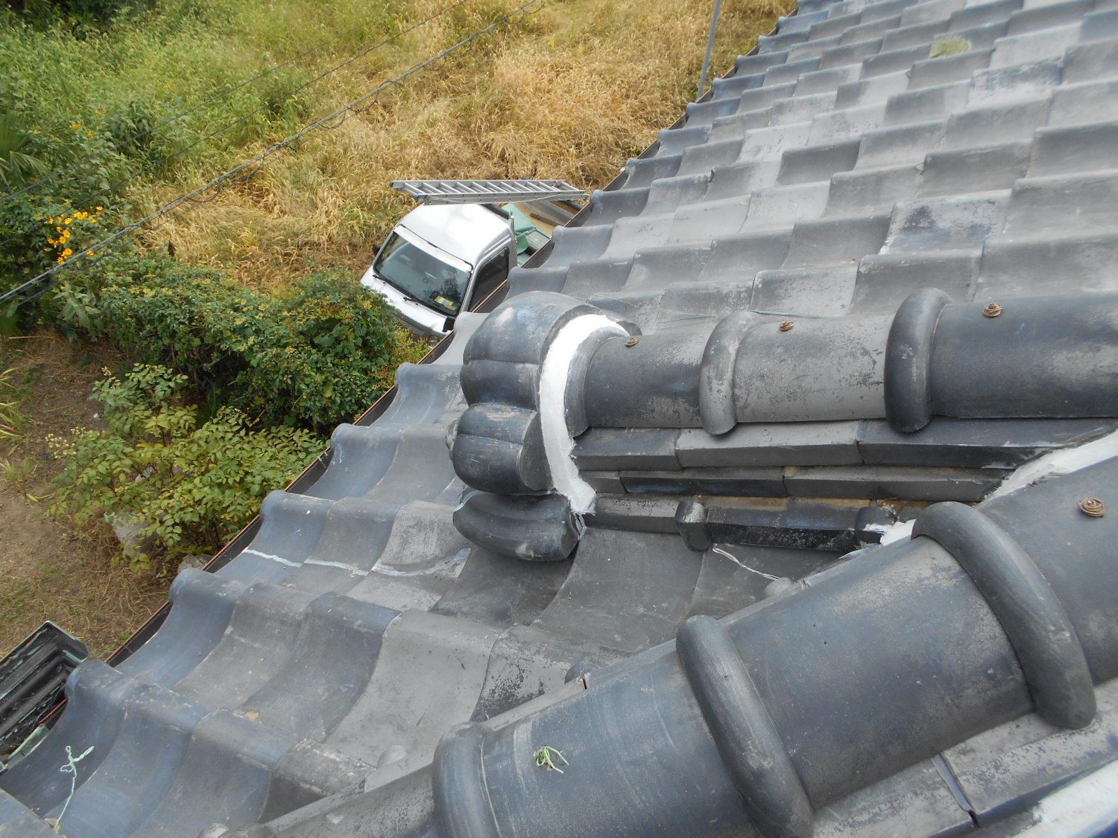 雨漏り屋根葺き替え修理 津市I様邸