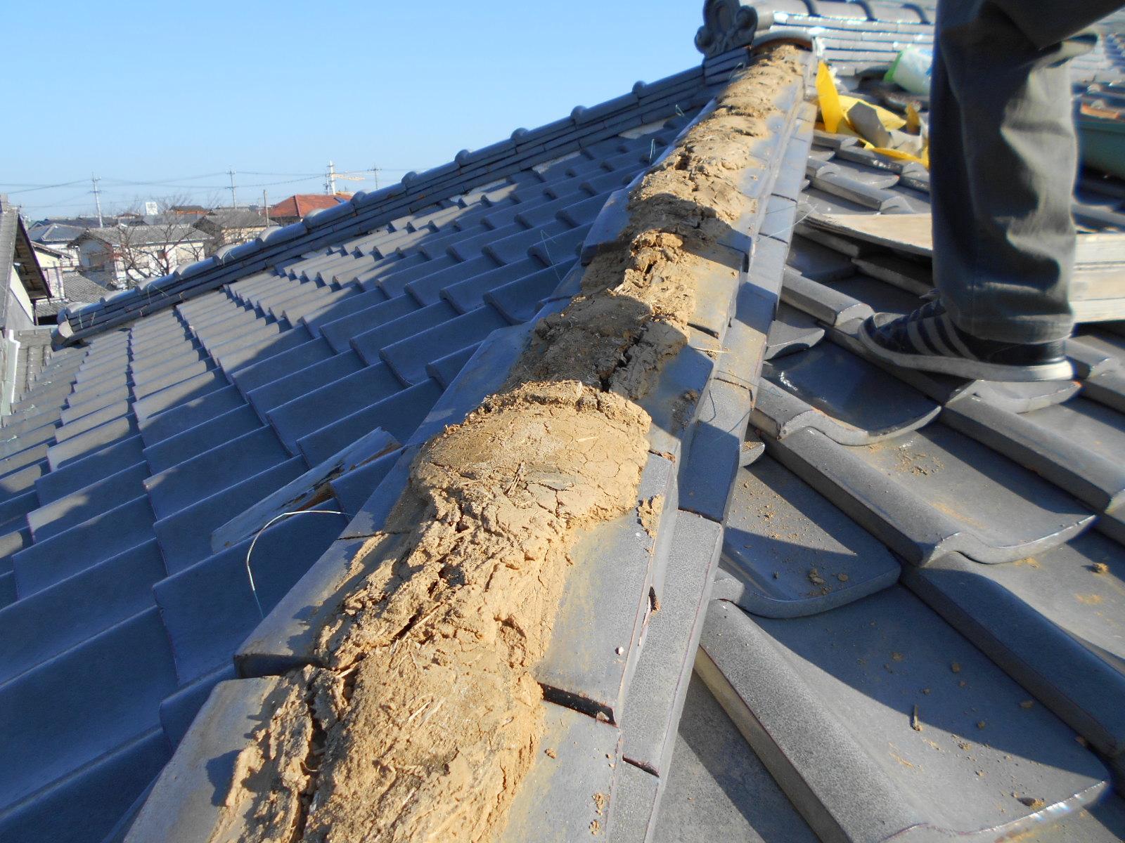 津市で屋根修理
