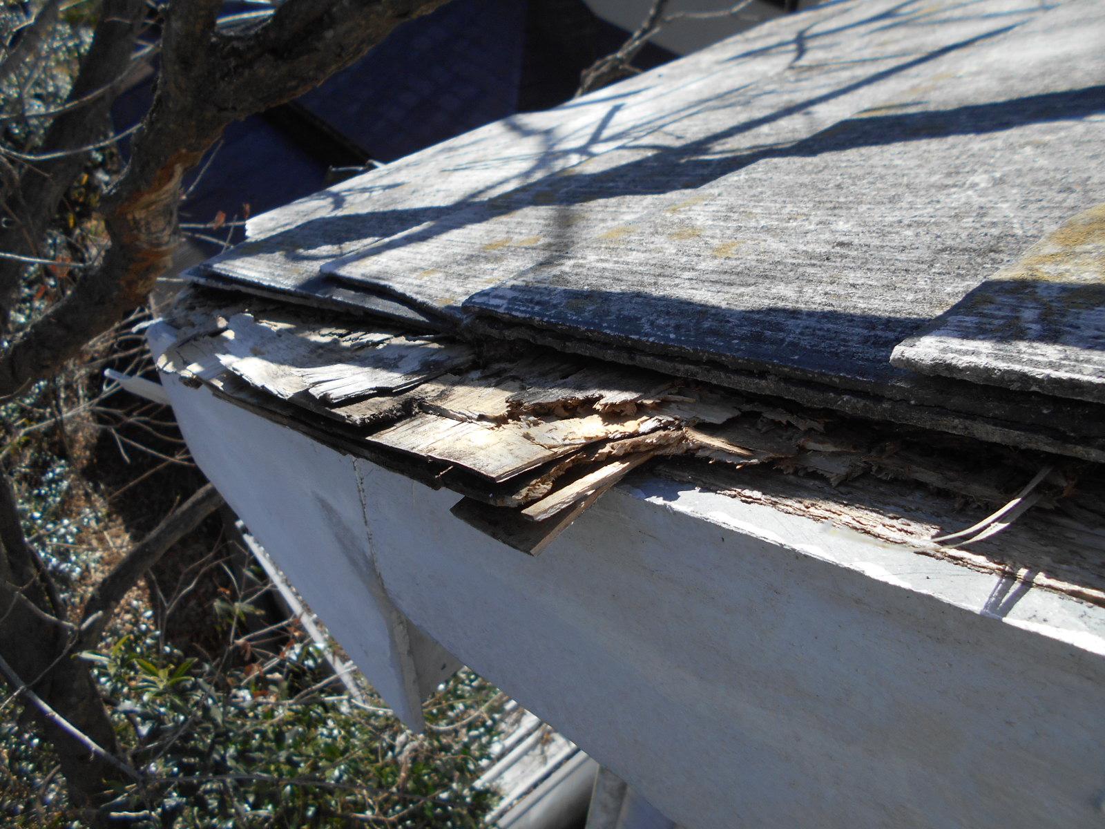 津市芸濃町 雨漏り屋根修理