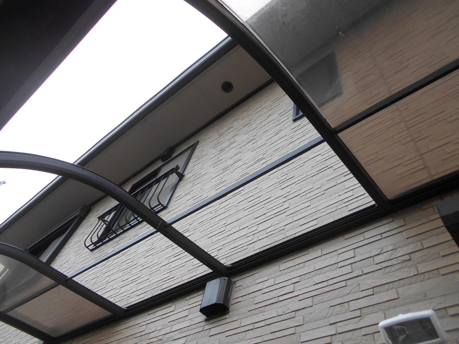 鈴鹿市でテラスの屋根修理
