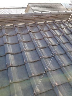 津市で屋根瓦修理