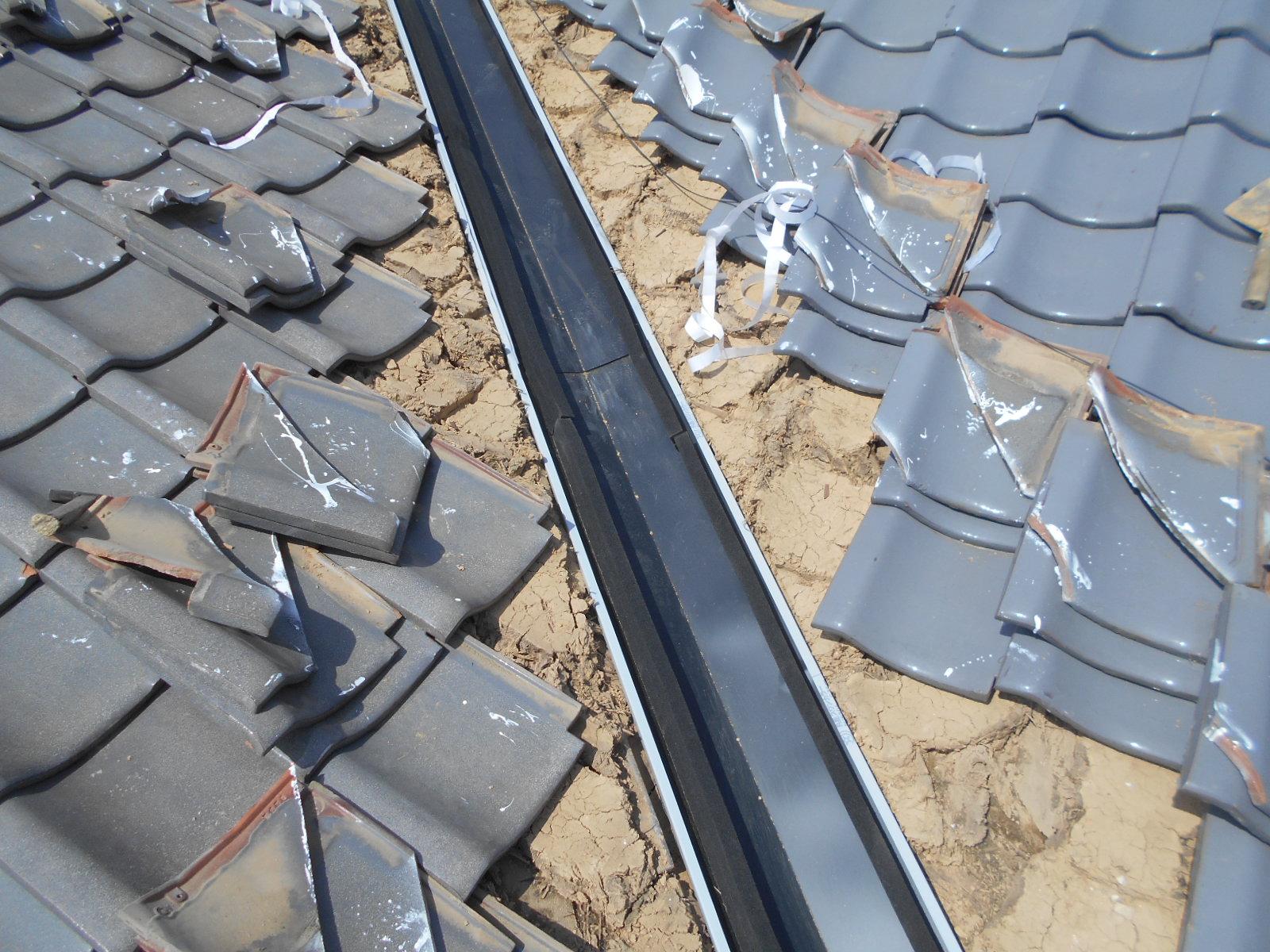 津市雨漏り屋根修理
