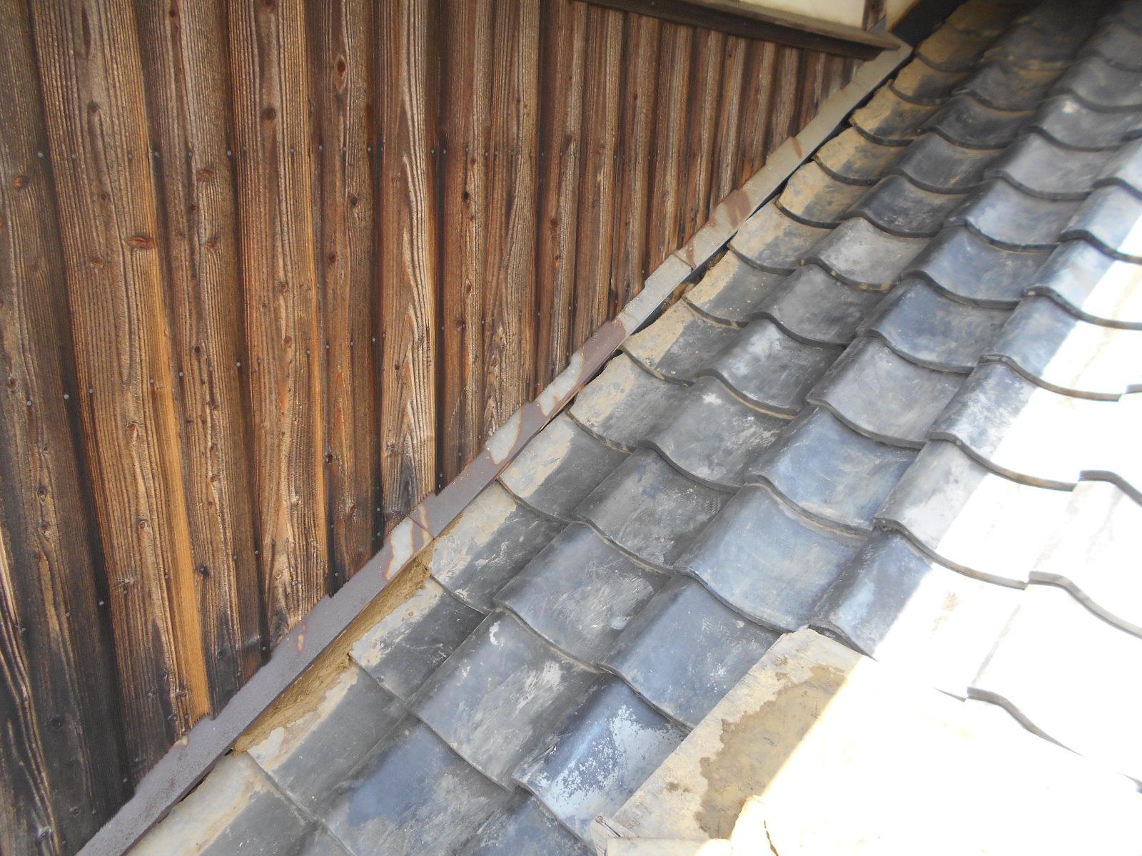 津市安濃町で雨漏り修理