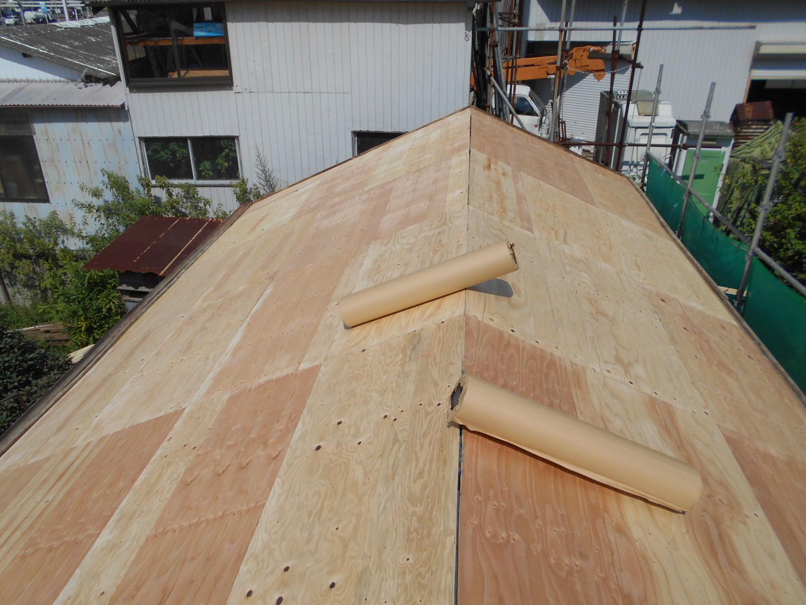 津市神納町G様邸 屋根葺き替え工事