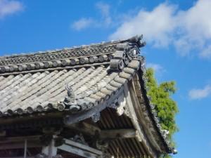 鐘楼堂 屋根葺き替え工事